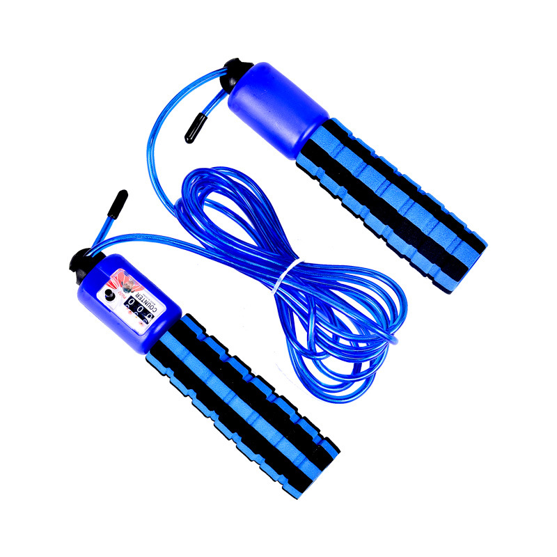 Counter Steel Wire Jump Rope   Men And Women Fitness Sports Adult The Academic Test For The Junior High School Students Young ST