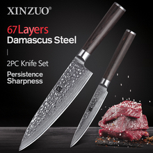 Knife-Set Japanese Vg10 Damascus XINZUO Utility-Knives Chef Stainless-Steel Kitchen 67-Layers