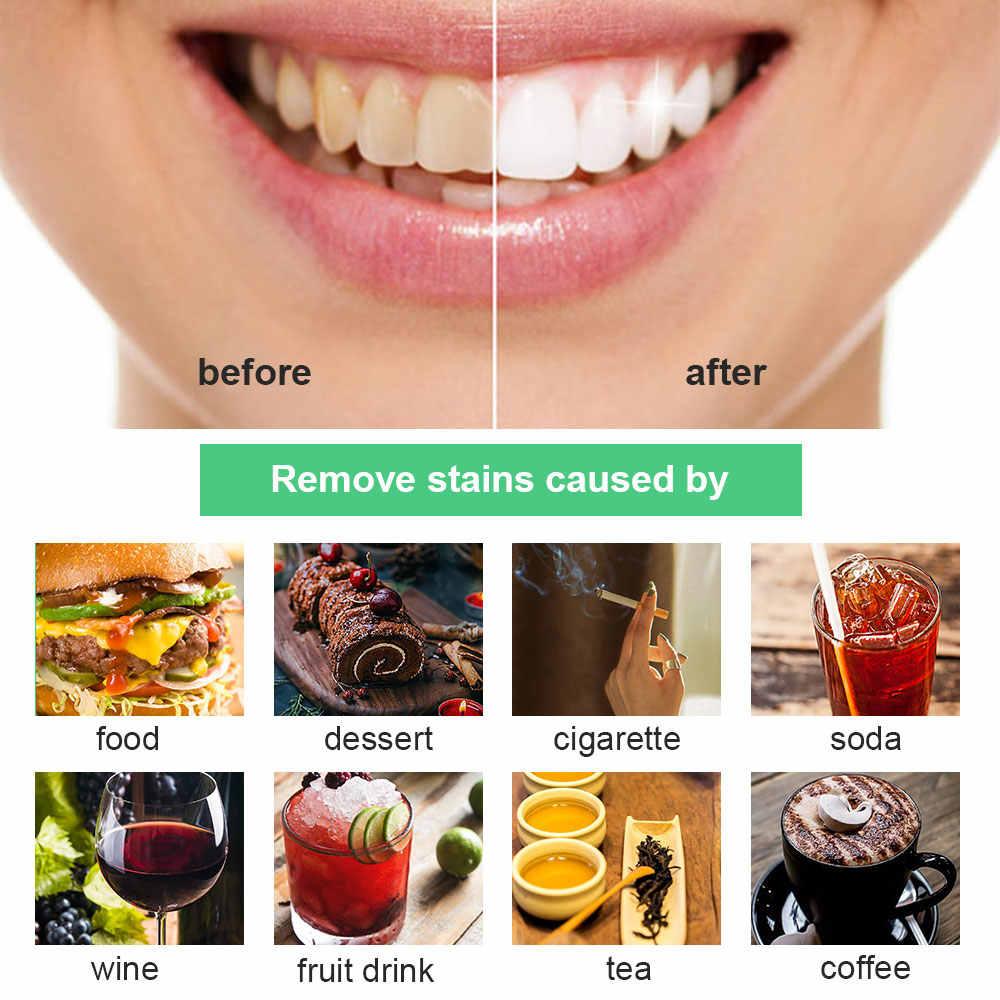שיניים הלבנת 30g אבקת עשן קפה תה כתם להסיר במבוק הופעל פחם אבקת היגיינת פה טיפול שיניים שיניים