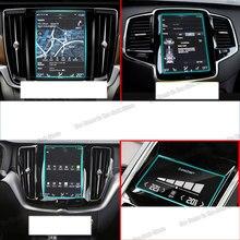 Lsrtw2017 auto navigation GPS screen protector aufkleber film für volvo xc90 xc60 s90 xc40 2016 2017 2018 2019 v90 v60 LCD gehärtetem