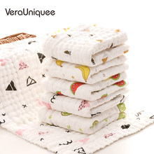 VeraUniquee Bibs Baby Cute Babador Feeding Burp Cloths Baby Boy Bibs Soft and Easy to Roll Infant Newborn Bibs for Children(China)