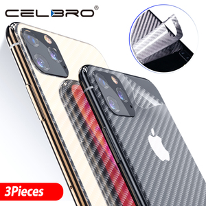 Image 2 - Tempered Glass for iPhone 11 Pro Max Protective Glass Camera Lens Glass Carbon Fiber Sticker Film for iPhone 11 Pro Max Film