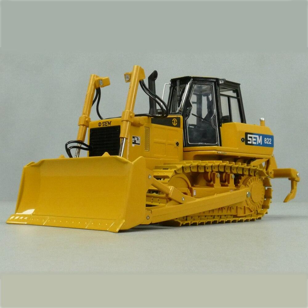 1:35 Scale Model, Diecast, Construction Model, SEM816 Bulldozer Model, Zinc Alloy Replica, Gift