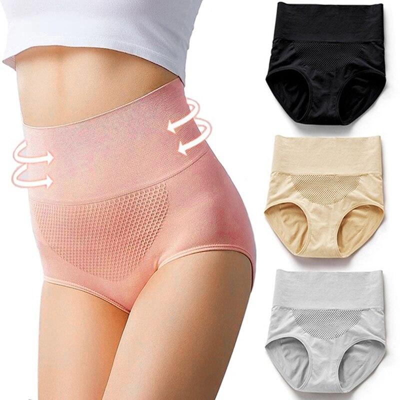 Women Sexy Ultra-thin Panties Women's Briefs Comfortable High Waist Underwear Women's Panties Female Underpants