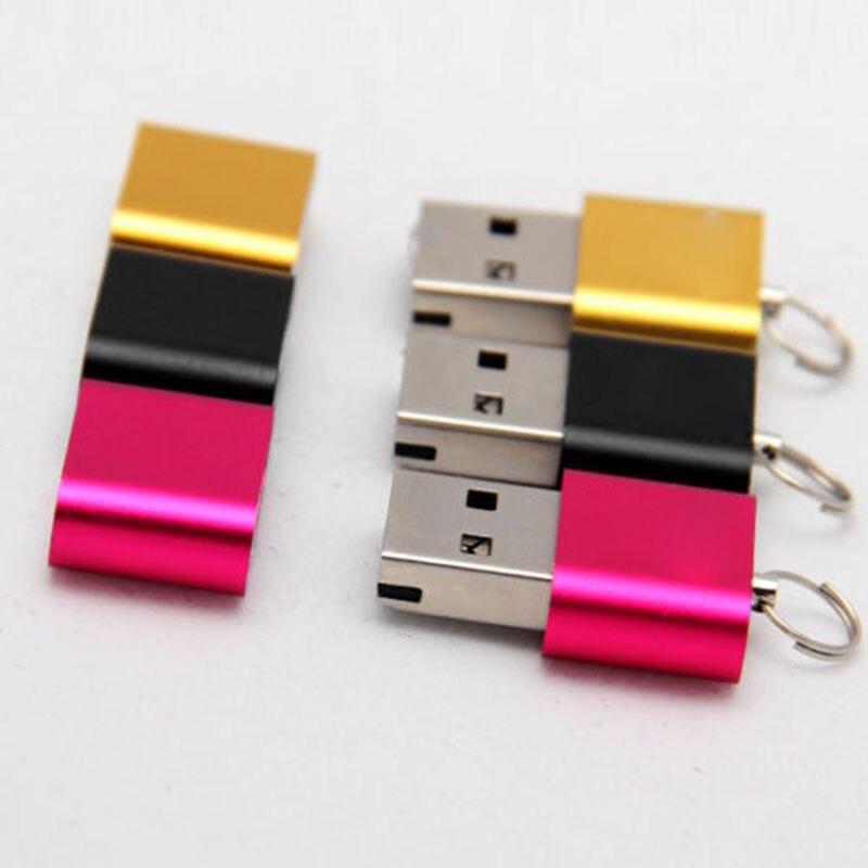 2 Pcs Mini Card Reader Micro SD T-Flash SDHC High Speed USB Adapter VDX99