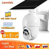 4G SIM Card Camera WiFi 1080P telecamera di sicurezza esterna solare CCTV rilevazione di movimento visione notturna batteria videocamera di sorveglianza