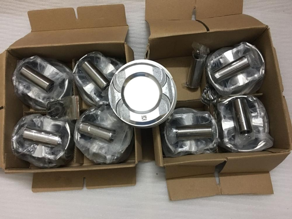 8PCS 2780302317 PISTON FOR MERCEDES M278 title=