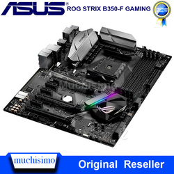 Solía hembra AM4 Asus ROG STRIX B350-F de placa base AMD B350 DDR4 64GB escritorio Asus B350 placa base AM4 PCI-E 3,0 DDR4