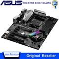 Verwendet Buchse AM4 Asus ROG STRIX B350-F GAMING Motherboard AMD B350 DDR4 64GB Desktop Asus B350 Mainboard AM4 PCI-E 3,0 DDR4