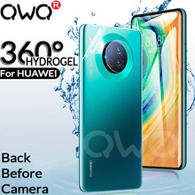 360 HD Full Hydrogels phone case for huawei P20 P30 Lite MATE 10 20 30 Lite Pro back+camera Glass screen protector cover Cases(China)