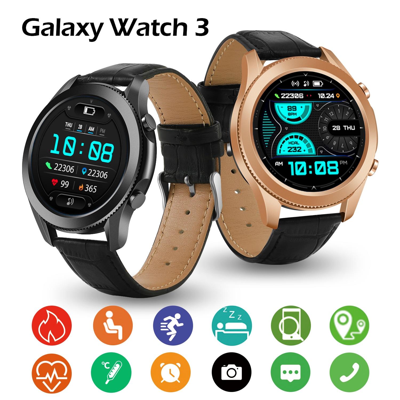 Galaxy W3 Smartwatch Fitness Tracker Bracelet Bluetooth Call Men's Smart Watch Waterproof IP68 Women's Watches for Huawei Xiaomi 5