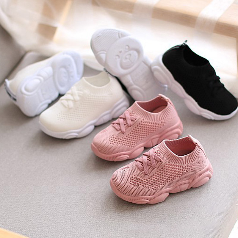 Baby Shoe Sneaker Summer Baby Mesh Sneakers Breathable Soft Baby Toddler Shoe Artificial Leather Soft Bottom Baby Sneaker