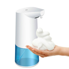 Intelligent automatic soap dispenser induction foaming hand washer, suitable for bathroom kitchen automatic soap dispenser anmon ultra thin fully automatic electric induction hand dryer high quality fast blowing hand machine suitable for small space