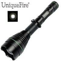UniqueFire 1508 T50 отражатель XM-L2 LEDPowerful Регулируемый фонарик 5 режимов фонарь для ночного кемпинга