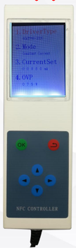 NFC programmable 0-10v led dimmer controller