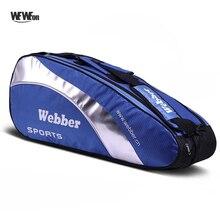 4 шт., большие сумки для бадминтона, спортивная сумка для ракетки, водонепроницаемый рюкзак для тенниса, стильный рюкзак для занятий спортом,...