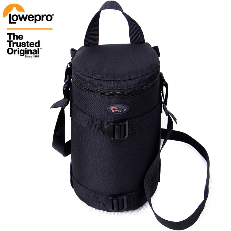New Lowepro Lens Case Bag Waterproof Photo Pouch For Standard Zoom Lens Black  For Canon Nikon