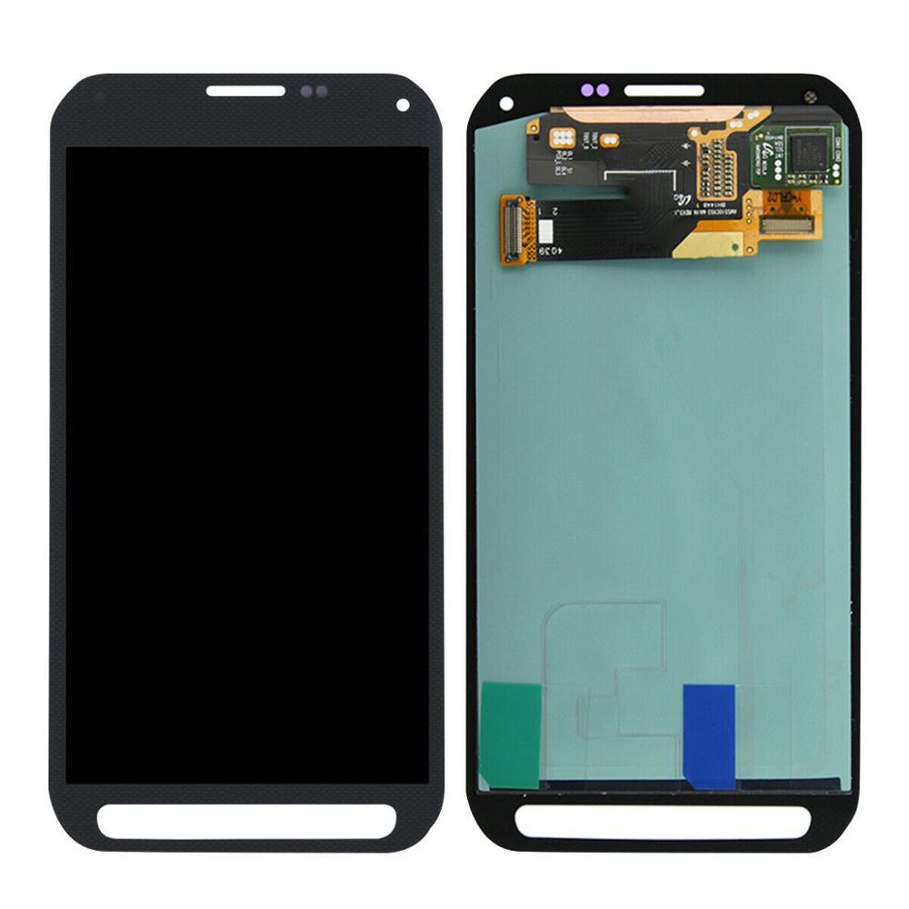 100% тестирование 5.1 супер AMOLED ЖК-дисплей для Samsung Галактики S5 активный и SM-G870 G870A ЖК-экран сенсорный дигитайзер ассамблеи