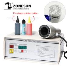 ZONESUN FK-300 Small Diameter Aluminium Foil Film Sealing Machine For Medicine Sharp Pointed Bottle Plastic Dropper