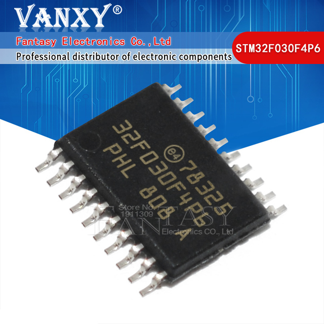 100 stücke STM32F030F4P6 Wert linie ARM basierend 32 bit MCU STM32F030 32F030F4P6