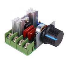 AC 50-220V 2000W SCR Voltage Regulator motor speed controller adjustable Dimming Dimmers Electronic Thermostat en05 ego 50 59070 008 240v 13a thermostat energy regulator simmerstat 5059070008
