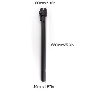 Image 5 - Vis de verrouillage de Base de tige pliante pour Xiaomi M365 Scooter pliant pôle support de tige pièces de rechange de Base crochet pliant pour Xiaomi M365