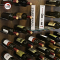UKE красные винные стойки из алюминиевого сплава  настенный держатель для бутылки  полка для хранения вина  2 шт. за пару