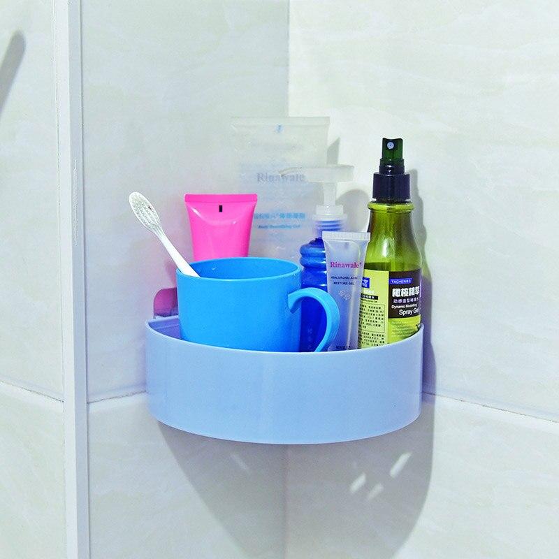 Wall Corner Bathroom Organizer For Storage Shower And Shampoo Holder Bathroom Accessories 1