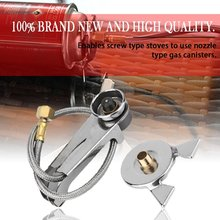 Picnic Camping Stove Split Converter Connector Gas Tank Adapter Hot sale Drop Shipiing brs outdoor high strength energy warehouse polycarbonate picnic camping travel power gas tank unit bin hot sale accessory