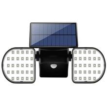 цены 56LED Solar Light PIR Motion Sensor Dual LED Solar Powered Spotlights Lamp Waterproof For Outdoor Garden Decoration
