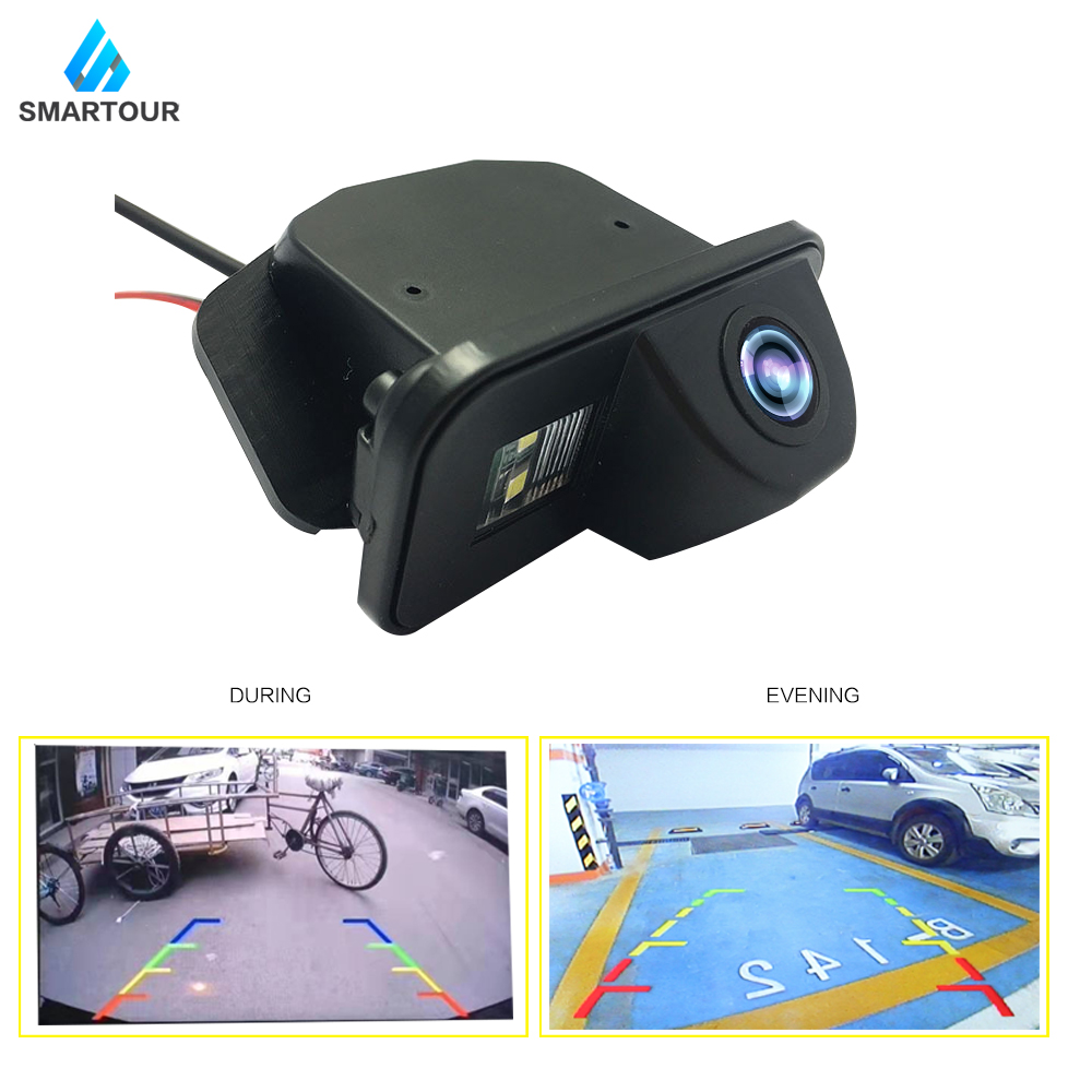 Smartour Car Rear View Camera Night Vision Waterproof Special  For Toyota Corolla Auris Avensis T25 T27 Vehicle Reverse Backup