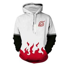 2018 Naruto Yondaime Hokage 3D Hoodies Men/women Fashion Namikaze Minato Harajuku Naruto 3D Print Men's Hoodies Sweatshir(China)