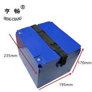 Image 2 - 12V 24V 36V 48V 60V 20Ah/30Ah LiFePo4 LiMn2O4 LiCoO2 batería caja de almacenamiento caja de plástico para motocicleta eléctrica ebike