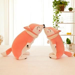 Image 3 - 35/50/60/70/90cm Kawaii Dolls Stuffed Animals Plush Toys for Girls Children Boys Toys Plush Pillow Fox Stuffed Animals Soft Toy
