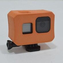 Buoyancy capa flutuante de eva, capa protetora anti queda para gopro hero 8, câmera de ação preta, acessórios de natação