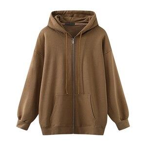 Oversize girls thick hoodies 2020 autumn fashion ladies streetwear fleece outfits casual boyfriend cute hoodies sweet women chic