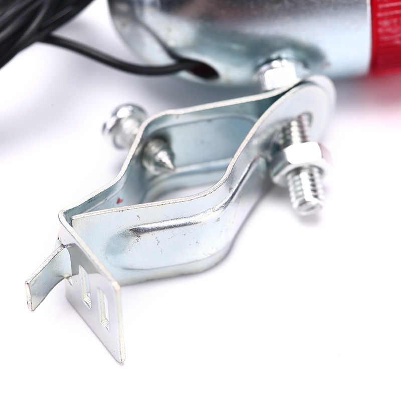 Klassieke Retro Fiets Achter Led Indicator Rood Licht Kabel Houder Beugel Atv Auto Achterlicht Lamp Voor Mtb Racefiets