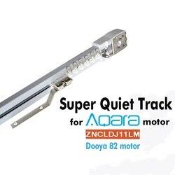 LE système de contrôle intelligent de Rails de rideau de voie de rideau électrique adaptent aux besoins du client pour Aqara/Dooya KT82 DT82 TN/TV/TS/LE