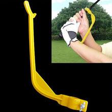 Golf Swinging Swing pomoc szkoleniowa narzędzie trener kontrola nadgarstka gest wyrównanie tanie tanio Other Trener huśtawka
