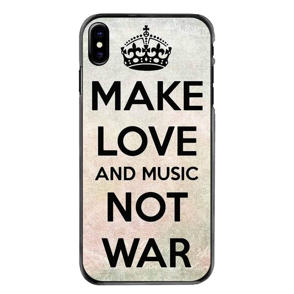 Pour Samsung Galaxy A3 A5 A7 A8 J1 J2 J3 J5 J7 Premier 2015 2016 2017 Accessoires coque peau musique pas guerre Signé Offset Affiche