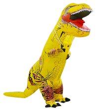 adult dinosaur inflatable christmas costume cosplay cartoon animal dinosaur jumpsuit halloween costume for men women l2651 Adult Kids Inflatable Dinosaur Costume women Men Costumes dinosaur Alien Halloween Party Fancy Dress suit Carnival Cosplay