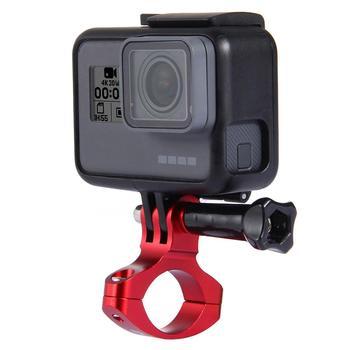 цена на CNC Aluminum Adapter Bike Stand Motorcycle Handlebar Holder for GoPro Hero HERO7/6/5/5 4 Session/4/3+/3/2/1, Action Camera