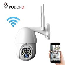PODOFO WiFi PTZ IP Camera 1080P HD Wireless Camera Security Inqmega Surveillance Camera Waterproof Outdoor Home EU UK PLUG