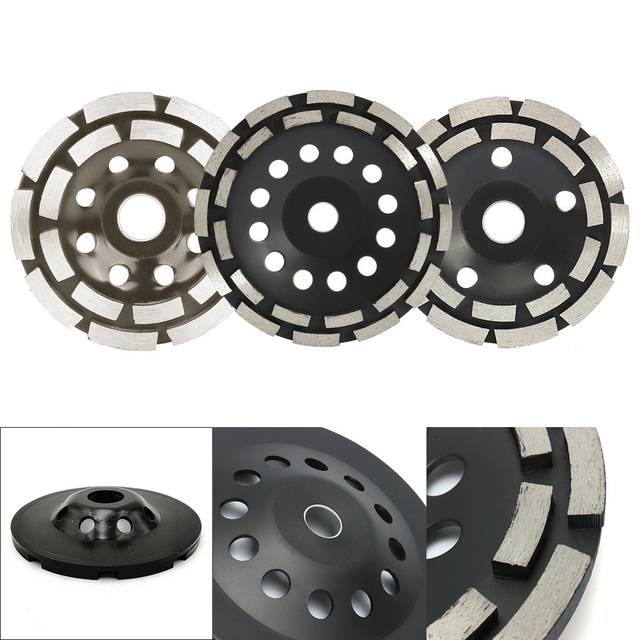 Diamond Grinding Disc Abrasives Concrete Tools Grinder Wheel Metalworking Cutting Grinding Wheels Cup Saw Blade - 115/125/180mm