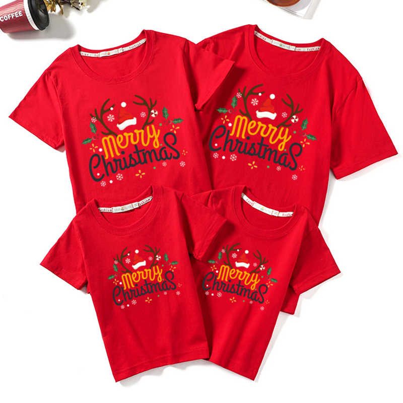Kid Baby Girls Boys Women Mom Daughter Family Matching T Shirts Clothes Tee Tops