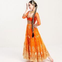 Neue Hand-made Hohe Grade Indien Pakistan Saris Für Frau Salwar Kameez Dance Performance Kleid Frau Schöne Embroideried Sets
