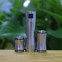 Comp lyfe hk mini mod mecânico cigarro eletrônico mods latão vape caber ddp trio mod 18350 18500 18650 ennequadro
