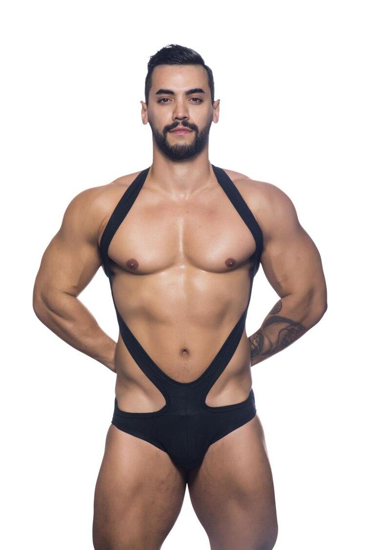 Free Shipping  New Style Men's Pyjamas Private Customized Sexy Bikini Jumpsuits