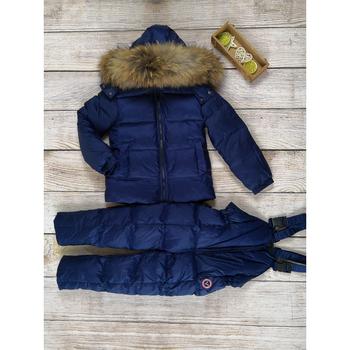 Dziecięce zimowe ubrania dla dziewczynki puchowe płaszcze dla chłopca dziecięce zestawy odzieżowe dziecięce kurtki + spodnie białe puchowe puchowe puchowe-30 stopni tanie i dobre opinie FATFATYANG moda CN (pochodzenie) Z kapturem zipper Moc006baby girl clothes winter POLIESTER spandex Unisex Pełne REGULAR