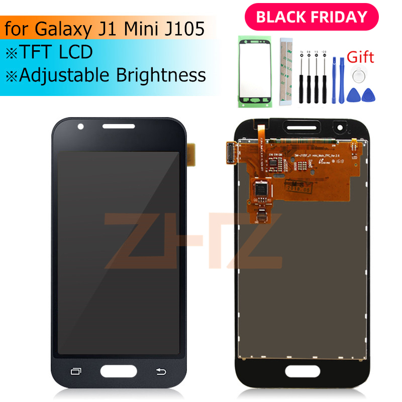for Samsung GALAXY J1 Mini <font><b>LCD</b></font> Display <font><b>J105</b></font> Touch Screen Digitizer Assembly j1 mini screen replacement Repair spair Parts image